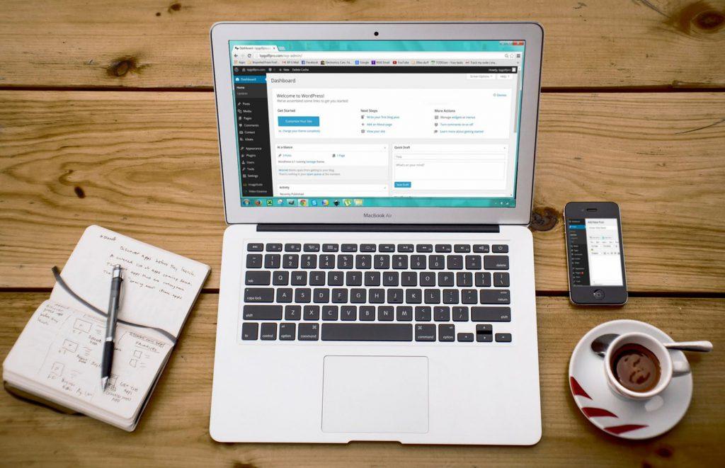 Crear página web WordPress