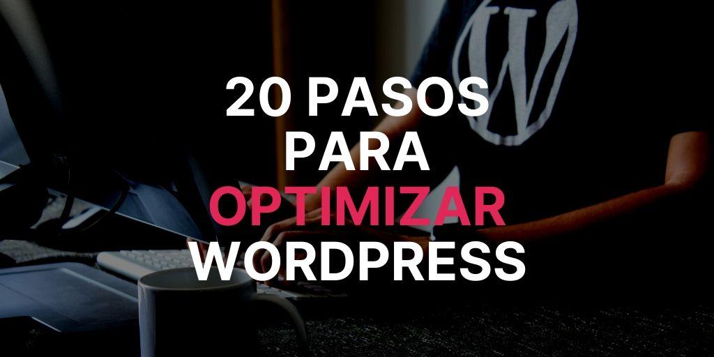 Qué hacer en casa optimizar wordpress