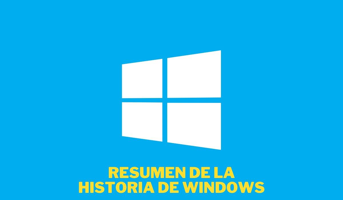 Resumen de la historia de Windows en imágenes