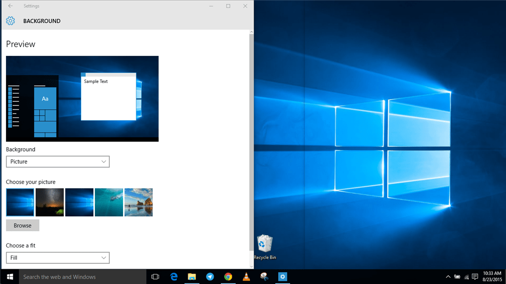 La historia de Windows: Windows 10