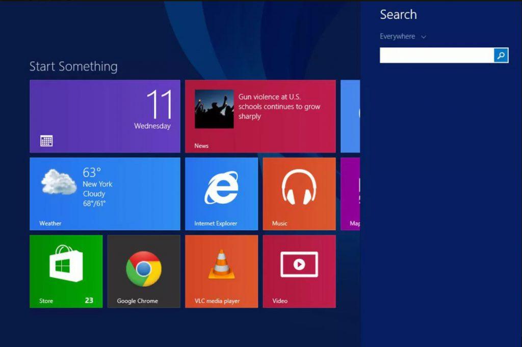 La historia de Windows: Windows 8