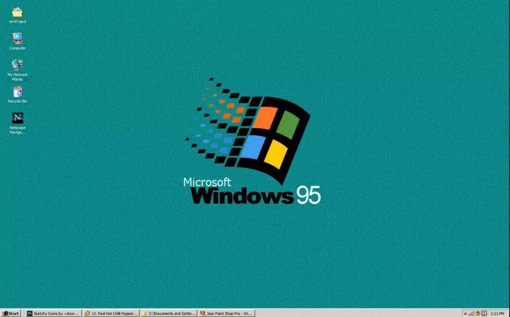 La historia de Windows: Windows 95
