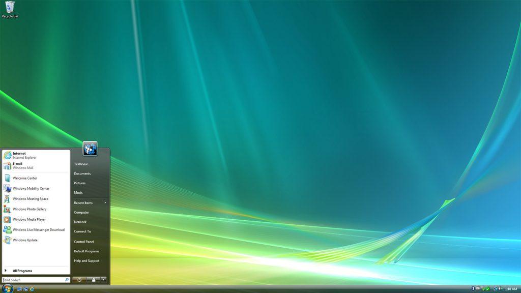 La historia de Windows: Windows Vista
