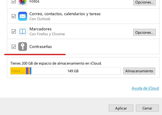 cómo usar iCloud en Windows 10 con Microsoft Edge